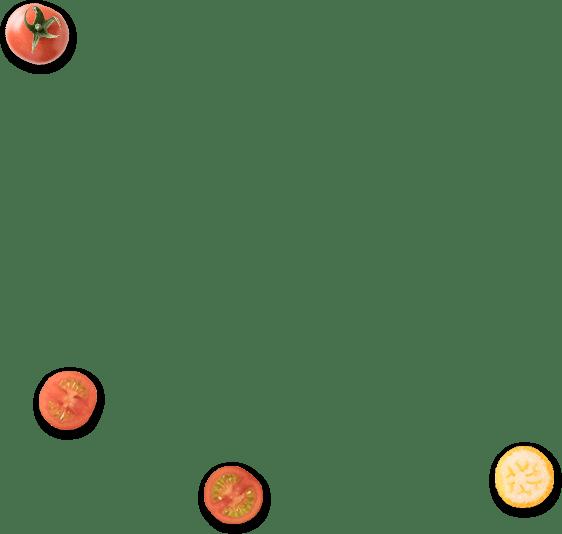 きんかんとトマト