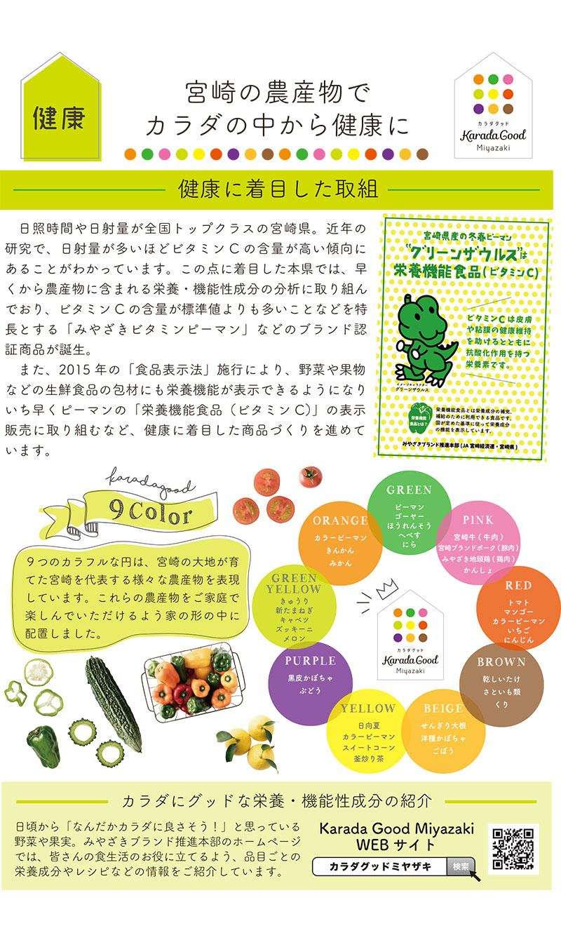 パンフレット3ページ