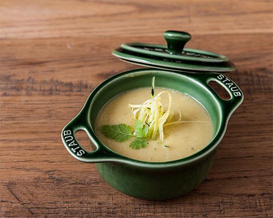 黒皮かぼちゃのスープの画像