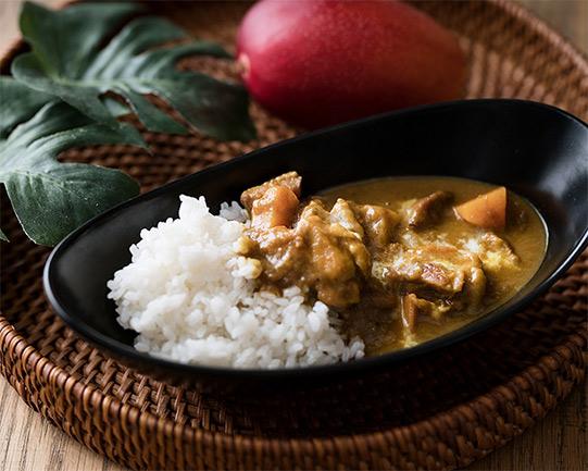 完熟マンゴーのチキンカレーの画像