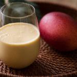 完熟マンゴーの豆乳ラッシーの画像
